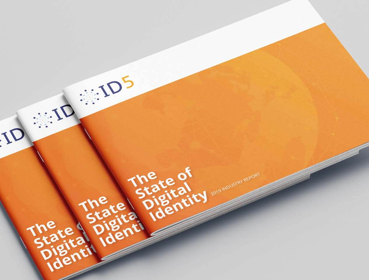 Image showing the cover design of the ID5 industry report